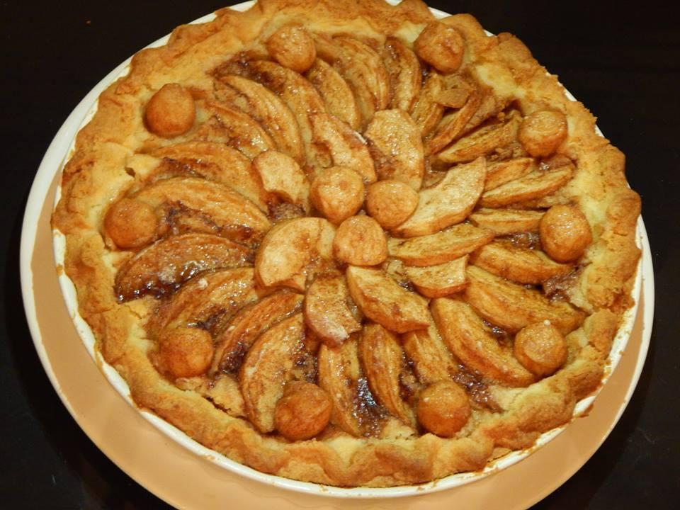 Gluténmentes Almás pite