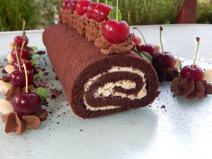 Svájci rolád( Swiss roll ) gluténmentesen